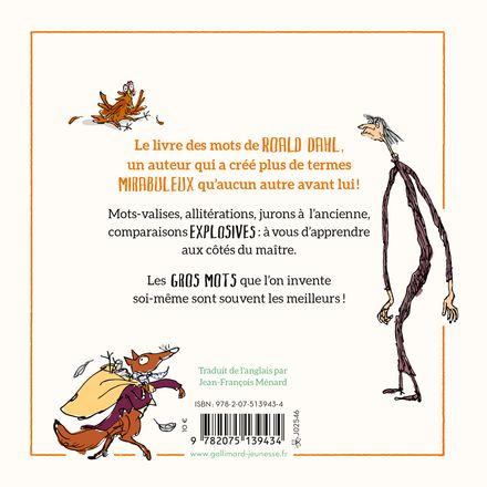 Petit manuel des gros mots de Roald Dahl - Quentin Blake, Roald Dahl