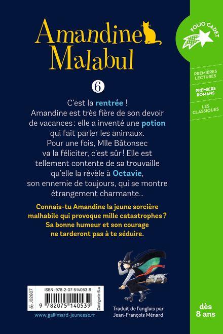 Amandine Malabul, la sorcière à la rescousse - Jill Murphy