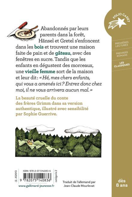 Hänsel et Gretel - Jacob Grimm, Wilhelm Grimm, Sophie Guerrive