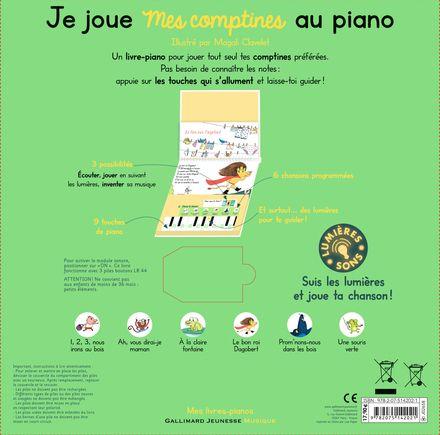 Je joue mes comptines au piano - Magali Clavelet
