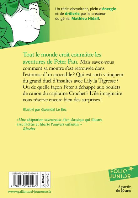 Les saisons de Peter Pan - Gwendal Le Bec, Christophe Mauri