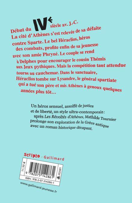 Le Maître de la Grèce - Mathilde Tournier