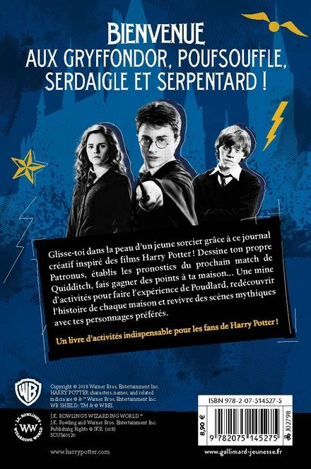 Harry Potter : Le journal créatif -