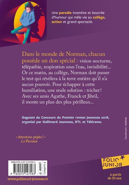 Norman n'a pas de super-pouvoir - Kamel Benaouda