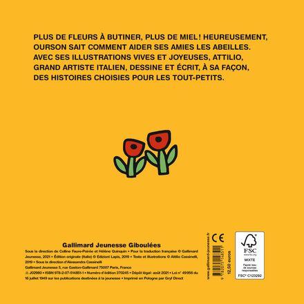 Ourson et les abeilles -  Attilio