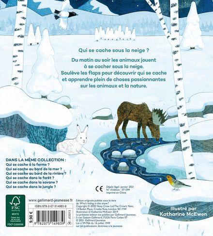 Qui se cache sous la neige? - Katherine McEwen