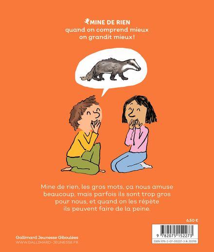 Les gros mots - Catherine Dolto, Colline Faure-Poirée,  Robin