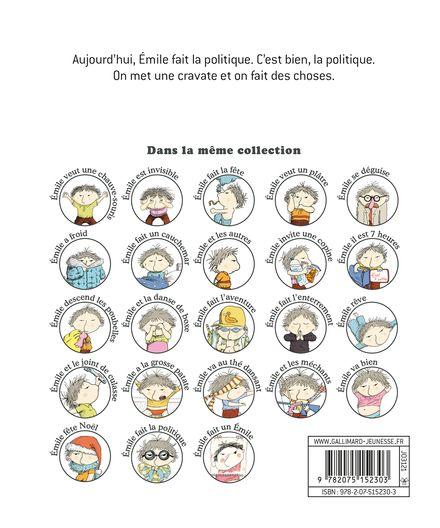 Emile fait la politique - Ronan Badel, Vincent Cuvellier