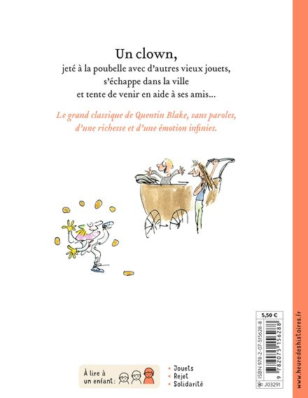 Clown - Quentin Blake