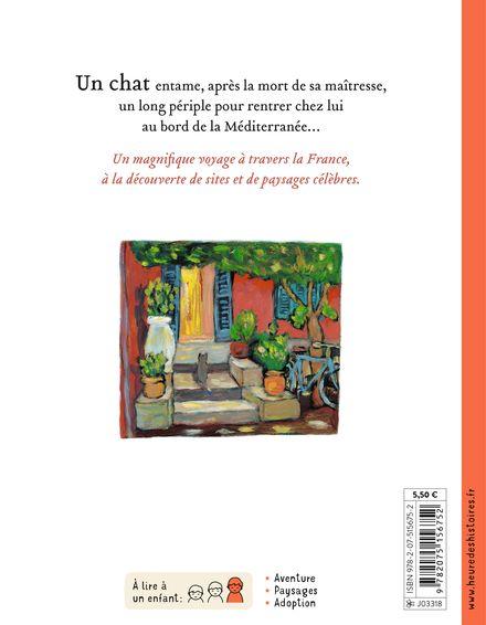 Le voyage du chat à travers la France - Kate Banks, Georg Hallensleben