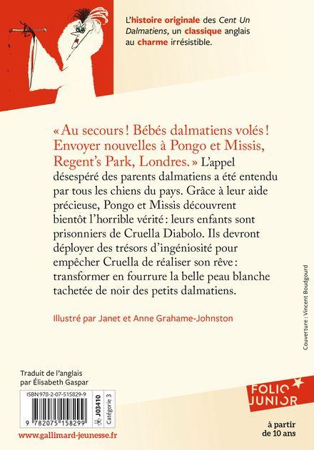 Les cent un dalmatiens - Janet et Anne Grahame-Johnstone, Dodie Smith
