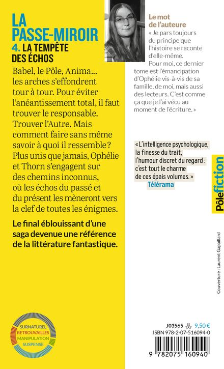 La Passe-miroir, 4 - Christelle Dabos