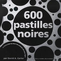 600 pastilles noires - David A. Carter