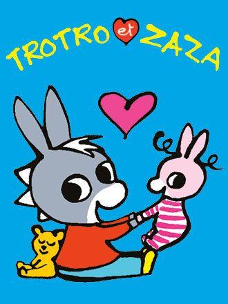 Trotro et Zaza - Giboulées
