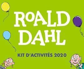 Roald Dahl : le kit d'activités 2020