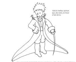 Coloriage Petit Prince