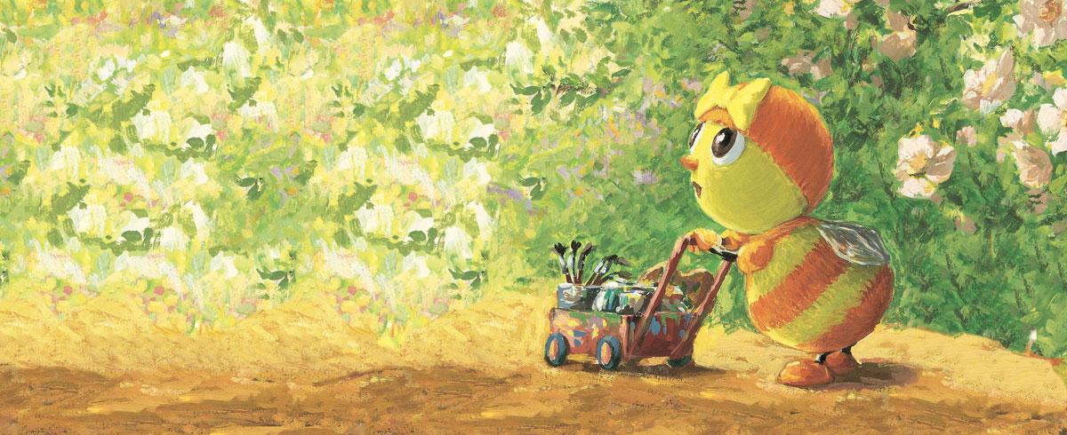 Mireille l'abeille, Antoon krings