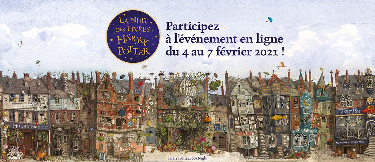Nuit des Livres Harry Potter 2021