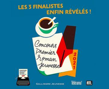 Concours du premier roman jeunesse : les 3 finalistes