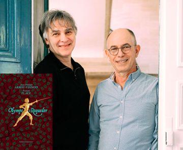 Jean-Philippe Arrou-Vignod et François Place en dédicace