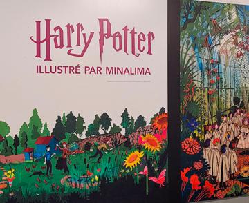 Exposition Harry Potter illustré par MinaLima
