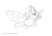 Coloriage Drôles de Petites Bêtes, Camille et Siméon