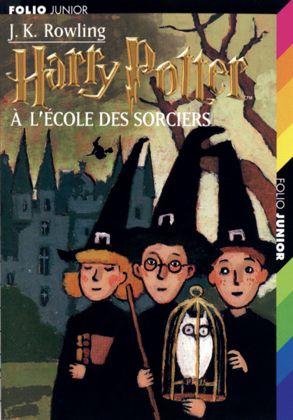 Harry Potter à l'école des sorciers, Folio Junior, 1998.