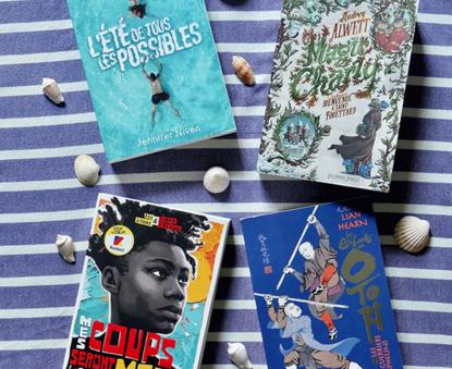 Lectures d'été pour les ados (13 ans et +)